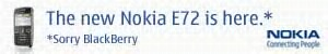 Nokia E72 Advert