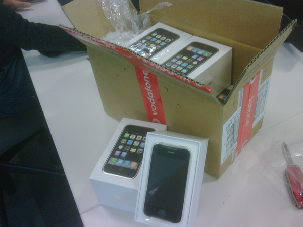 Lots of iPhone in a box