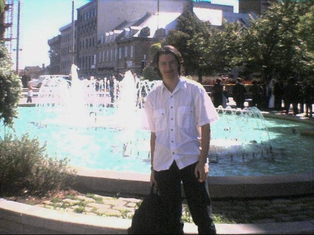 Me By Fountains