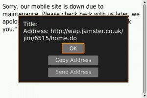 Oh Jamster...