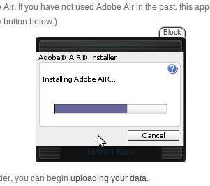 Installation of Air