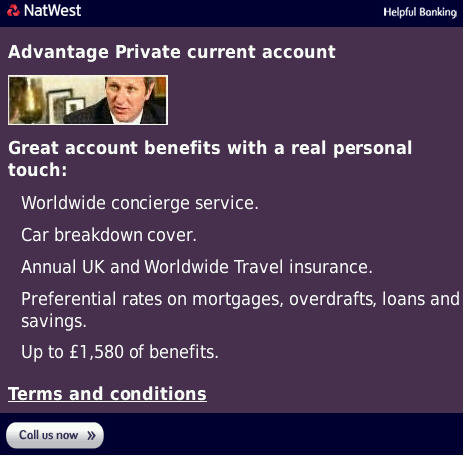 NatWest Mobile Site