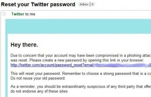 Reset Your Twitter Password