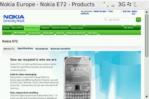 Desktop E72 Pageb