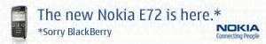Nokia E72 Advert