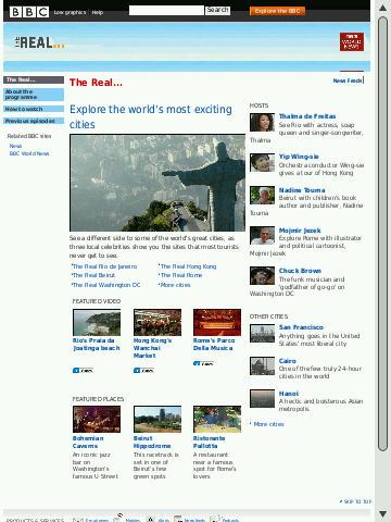 Non-Mobile BBC Site