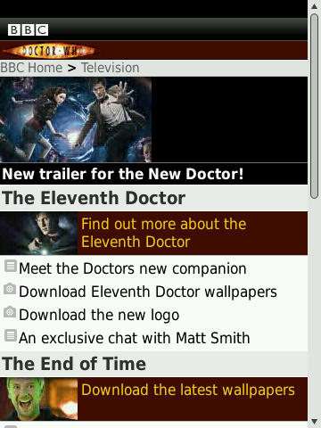 Doctor Who Mobile
