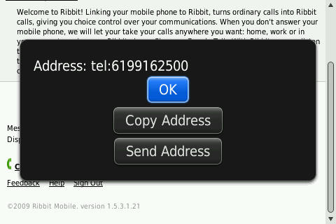 Ribbit Mobile Error