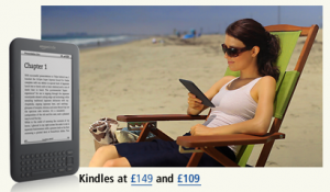 eBooks on the beach