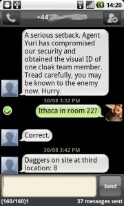 Spy Texts