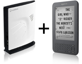 SureSignal and Kindle