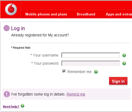 Vodafone exposes users email addresses terence edens blog as with many services a user needs a username and password thecheapjerseys Gallery
