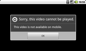 Sorry, this video cannot be played on mobile