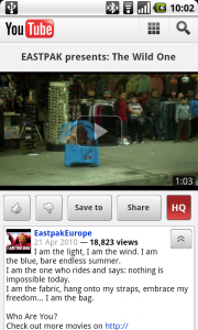 Eastpak YouTube