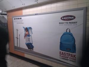 Eastpak QR Campaign