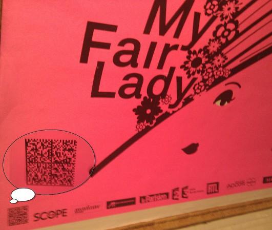 My Fair Lady Datamatrix