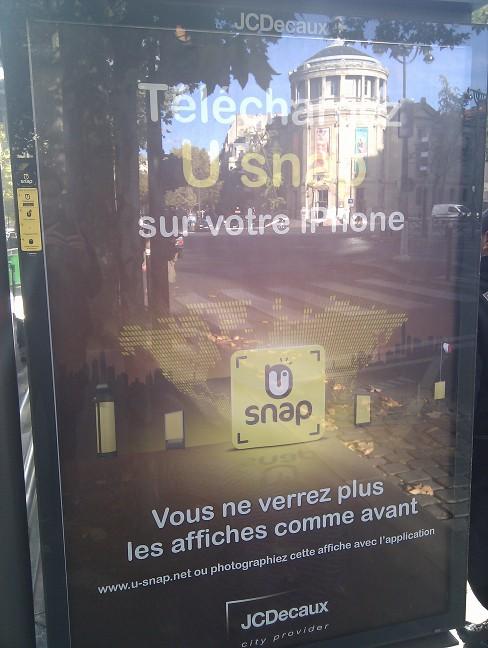 U Snap Poster