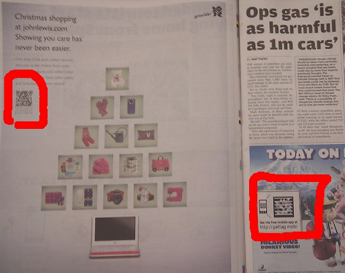2D Codes in the Metro