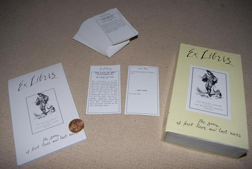 A set of Ex Libris cards