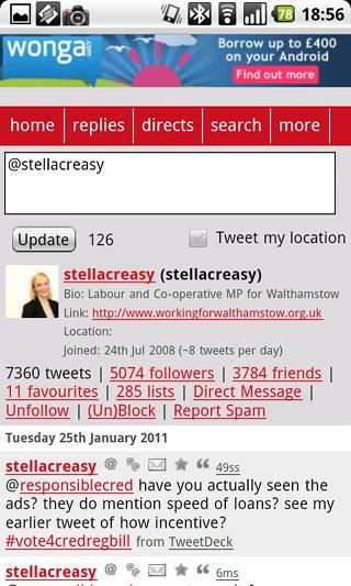 Stella Creasy Tweets