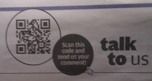 Metro Talk To Us QR