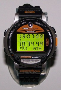 A digital watch.