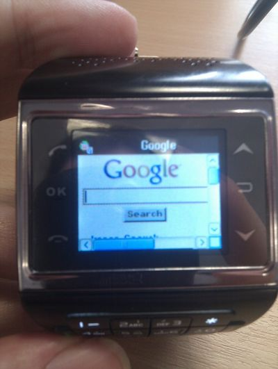 Google on the wrist