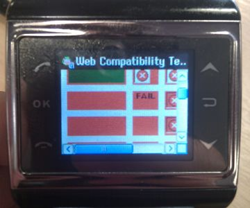 W3 Mobile Web Compatibility Tests