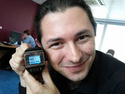 Watch Phone showing W3C