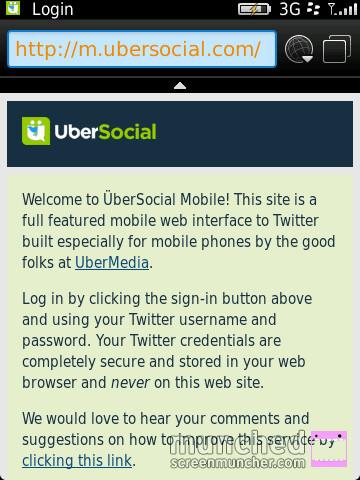 UberSocial Dabr