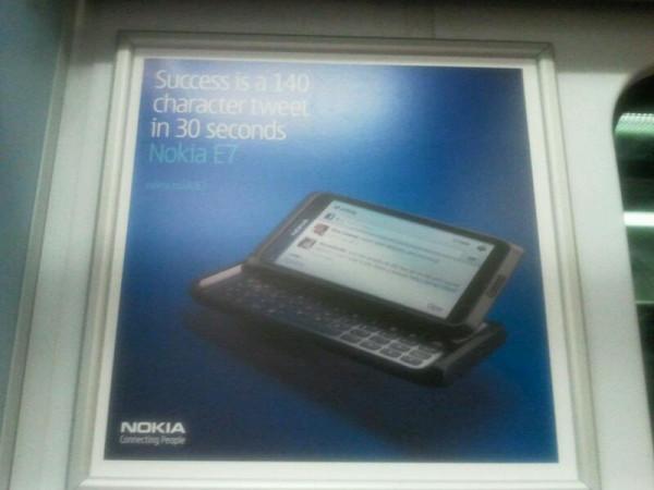 Nokia E7 Poster