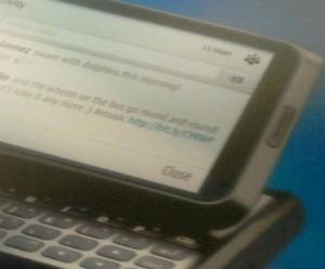 Nokia Tweet