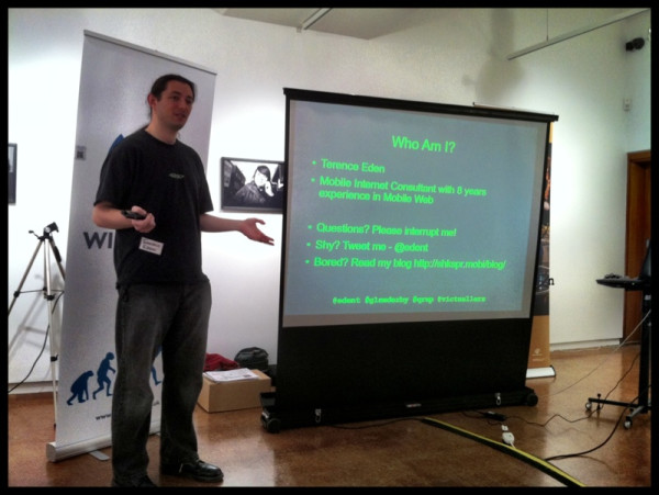 Presenting in Derby