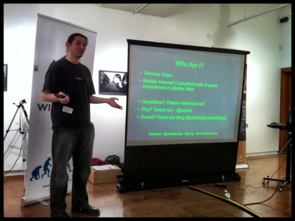 Presenting in Derby