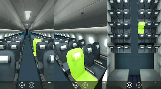 3D Seat selection