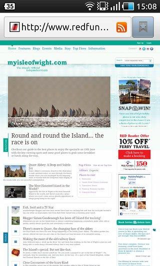 MyIsleOfWight Site