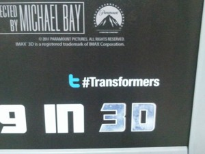 Transformers Poster Twitter Hashtag