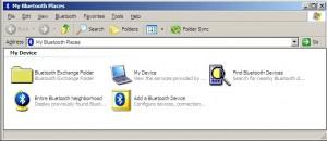 Windows XP Bluetooth