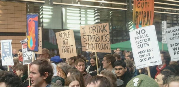 I drink Starbucks. I don't count.