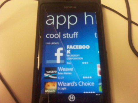 A Windows 7 phone.