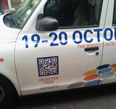 Inverted QR Taxi