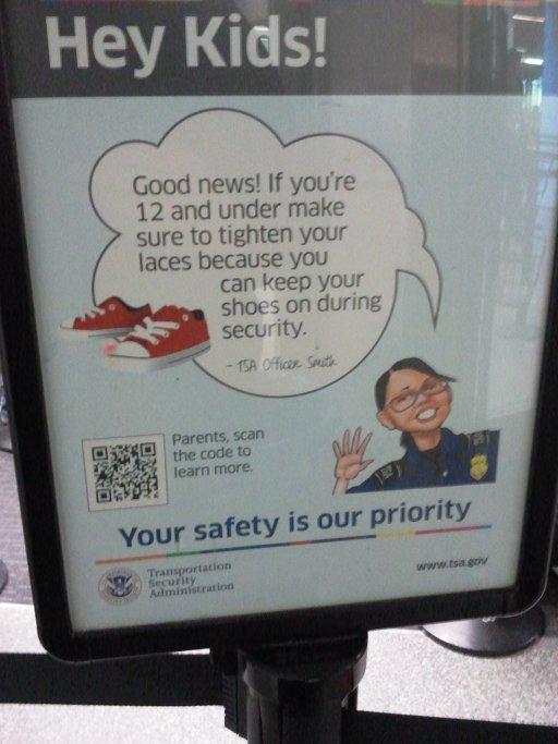 TSA QR Poster