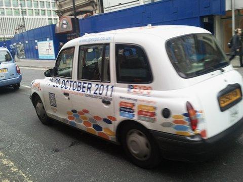 Taxi QR code
