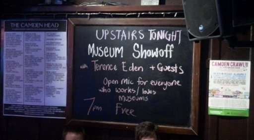 "Pub Sign reading ""Terence Eden and Guests"""