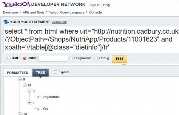 Cadbury API