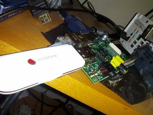 3G Dongle Raspberry Pi