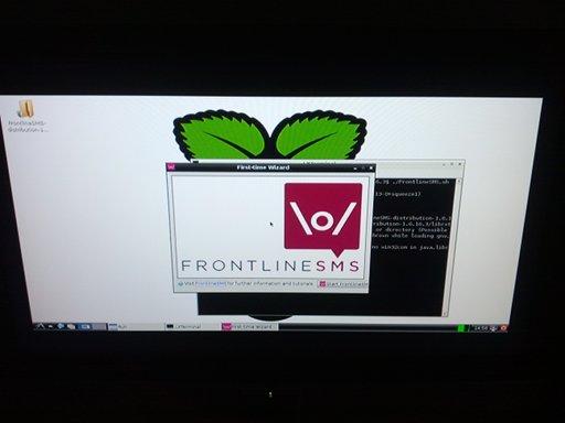 Frontline SMS Raspberry Pi