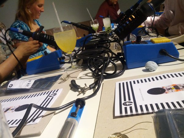 cocktail soldering