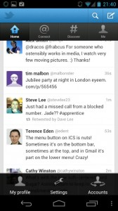ICS button screenshot Twitter