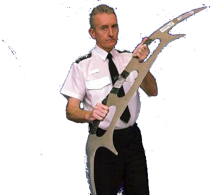 Police Batleth Transparent